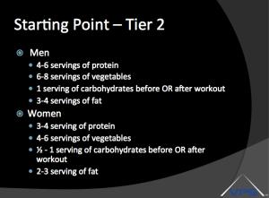 Tier 2 Nutrition